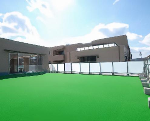 エチュード上野台 2F園庭